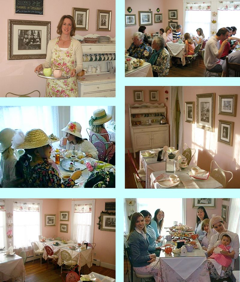 T-Party Antiques Tea Room