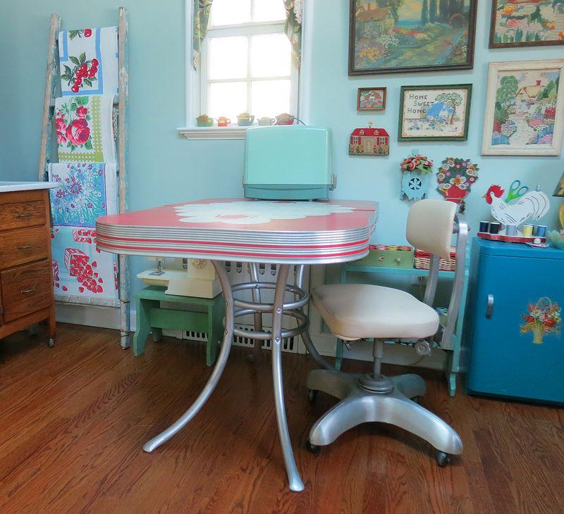 Susan Borgen Studio Work Table 4