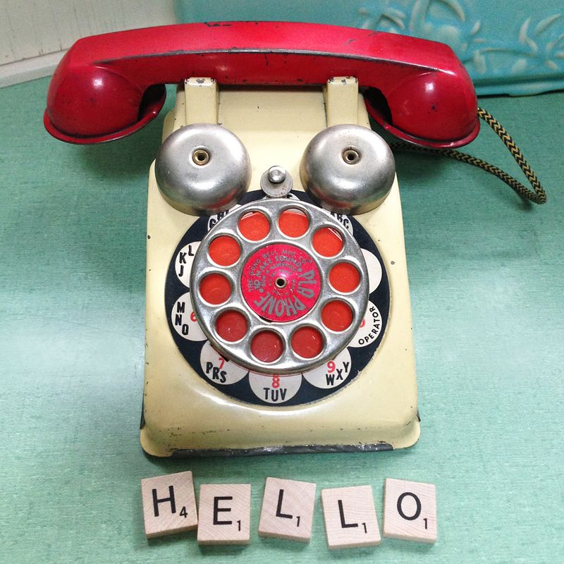 Hello Telephone Too copy