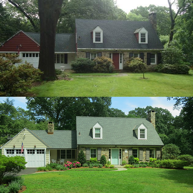 Susan's Cottage Before & After 1