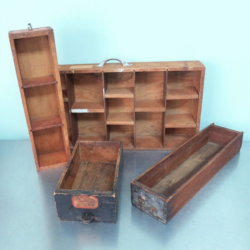 T-Party Antiques Vintage Drawers