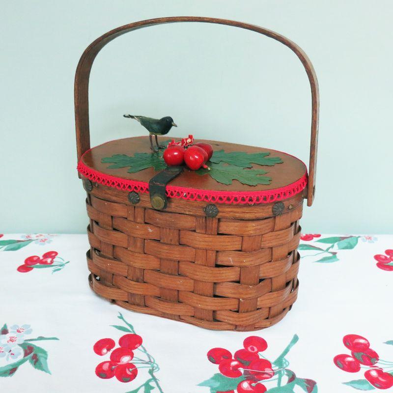 T-Party Antiques Cherry Bag