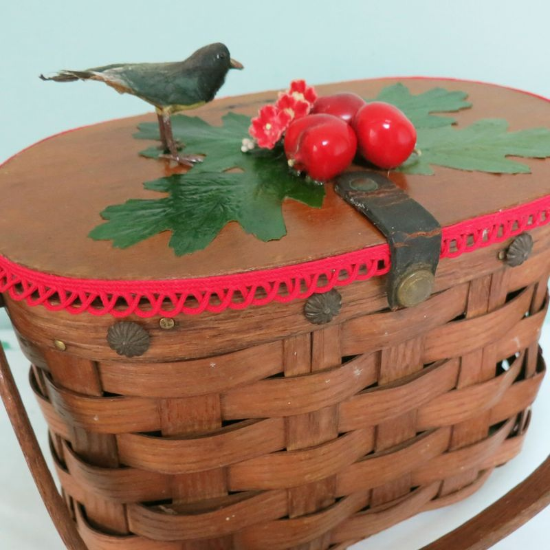 T-Party Antiques Cherry Bag Top