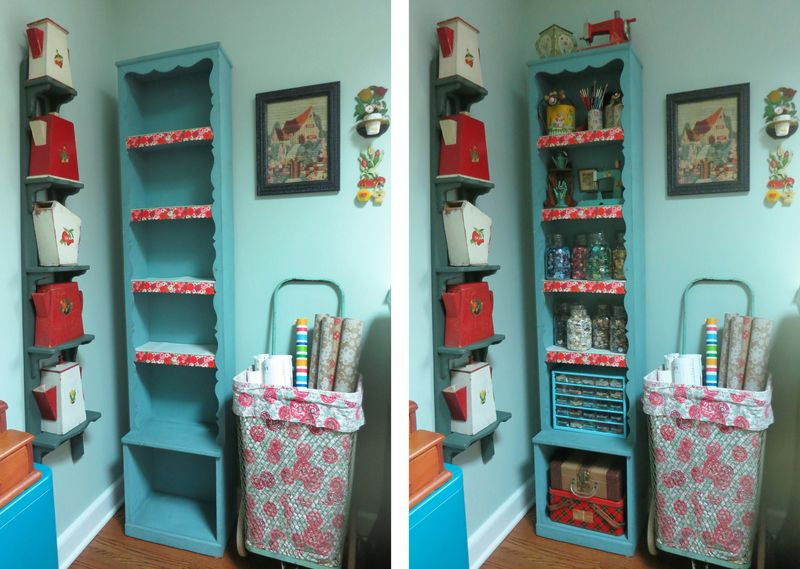 T-Party Antiques Shelf Liner After