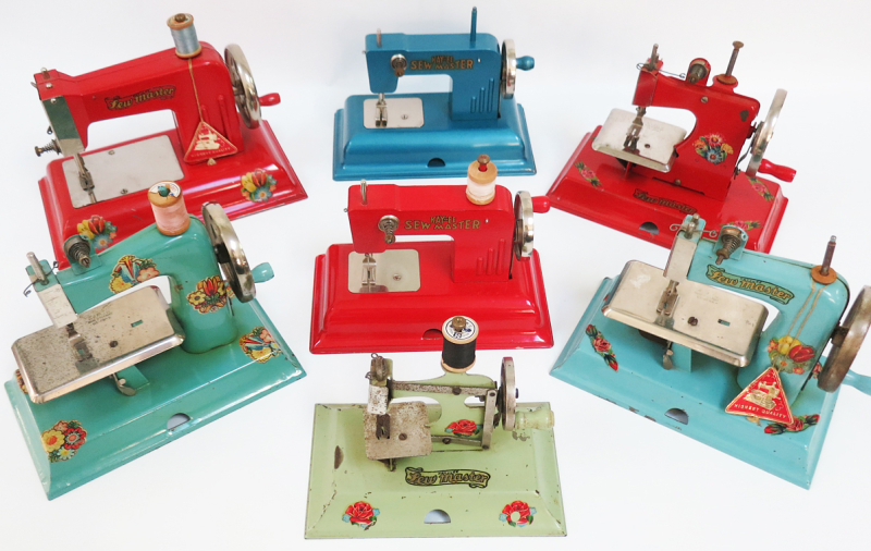 T-Party Antiques toy sewing machines
