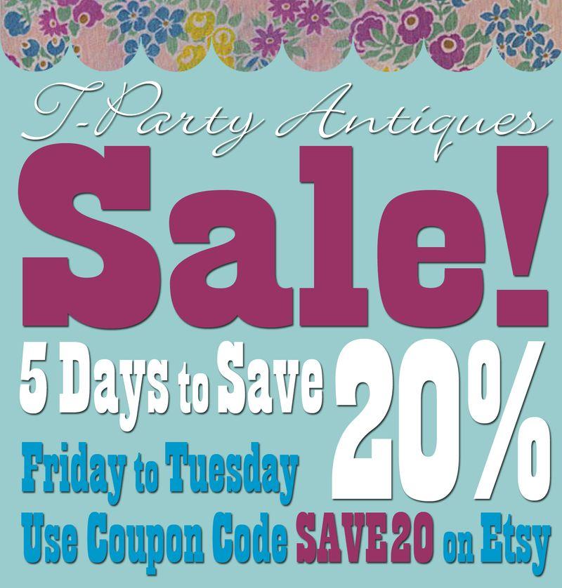 T-Party Save 20 Sale