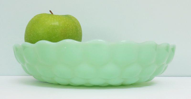 Jadeite bumpy bowl 1