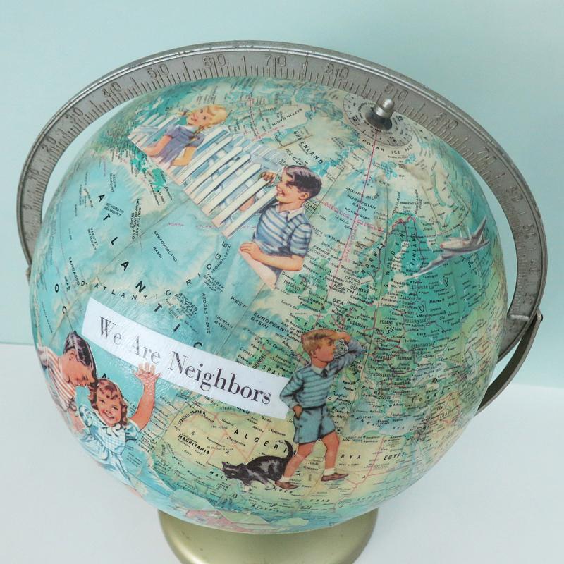 T-Party Antiques Globe