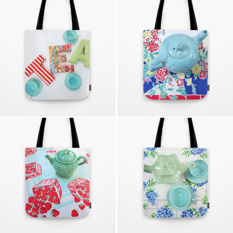 T-Party Tea Time Totes