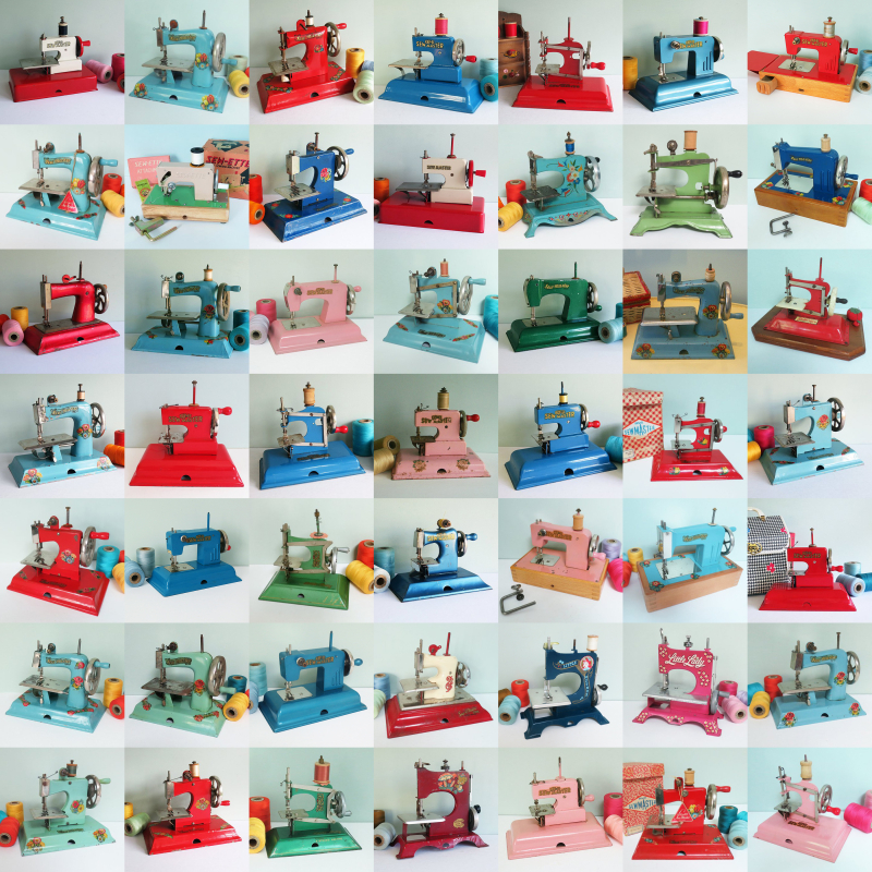 49 Toy Sewing Machines