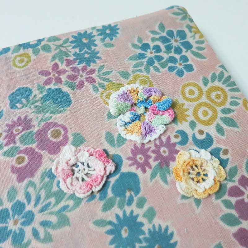 Pastel Floral Comp Book Cover 7