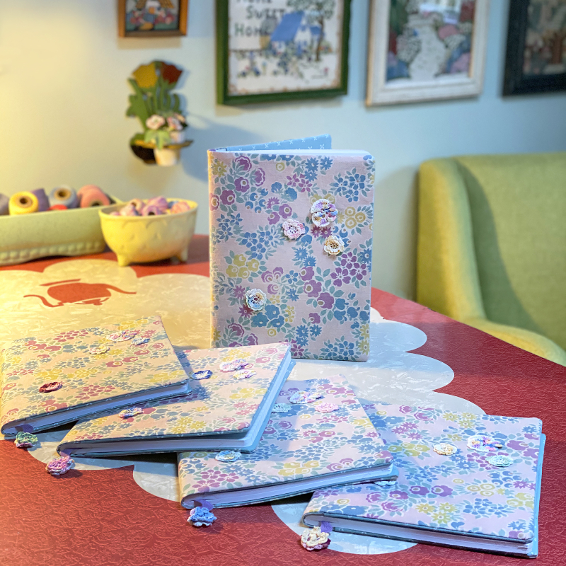 Pastel Floral Comp Book Covers