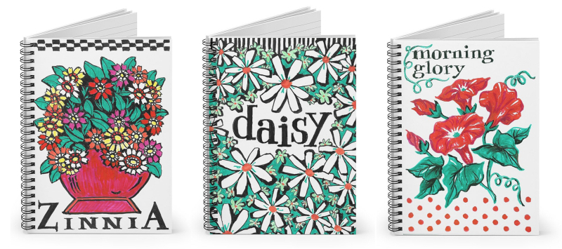 Sketch book spiral notebooks