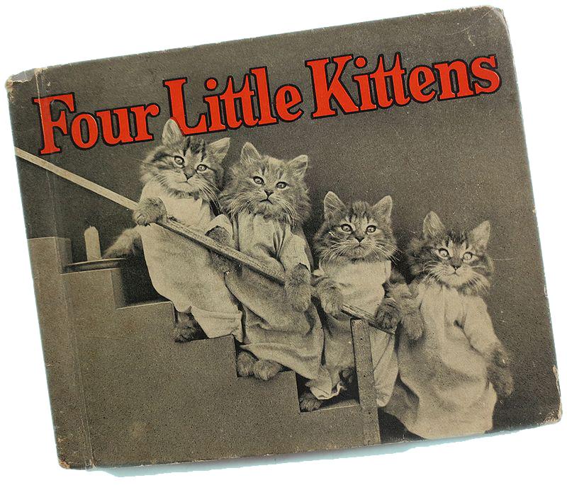 4 little kittens books