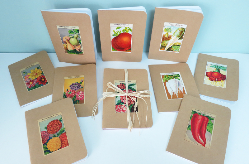 5x7 seed label notebooks 4 copy