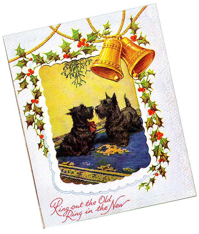 Scottie new year card