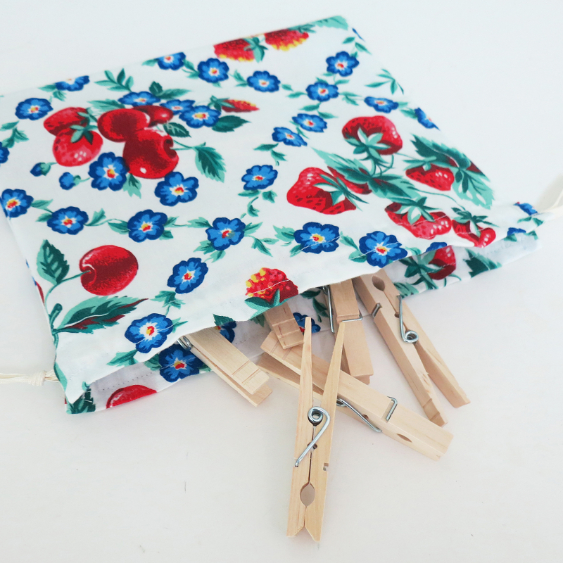 Clothes Pin Bag #2