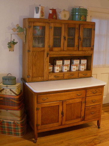 My Hoosier Cabinet Revisitied The T Cozy